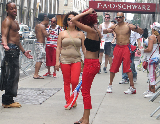The Puerto Rican Day Parade Style Check 2012 Billy Beyond S Blog