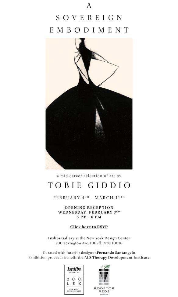Tobie Show Invite